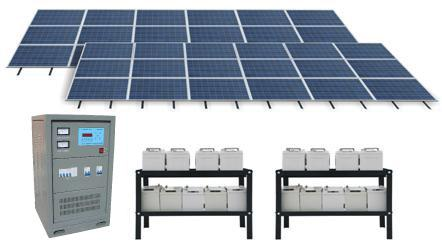 5kW Solar power system complete set