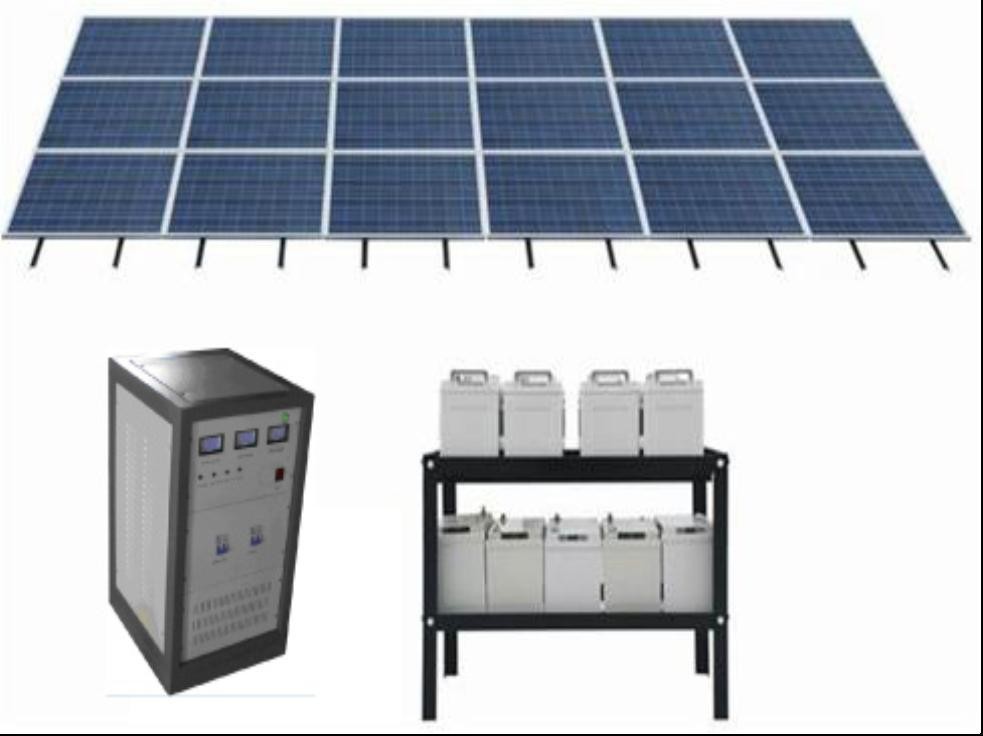 2kW Solar Power System complete set